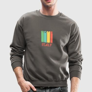 Retro Rome Skyline - Crewneck Sweatshirt