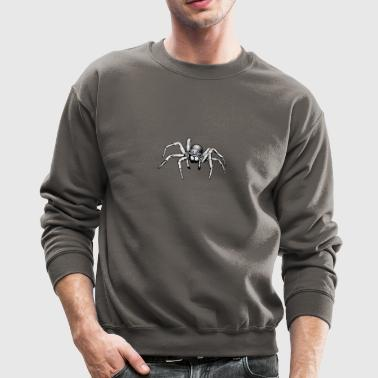 grey giant spider - Crewneck Sweatshirt