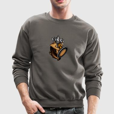 Viking ax shield helmet horns - Crewneck Sweatshirt