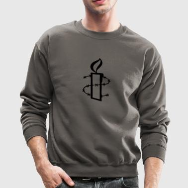 barbed wire - Crewneck Sweatshirt