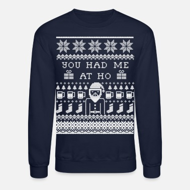 Merry Christmas Ugly Christmas Sweater - Unisex Crewneck Sweatshirt