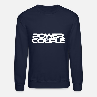 #PowerCouple Female-Female - Unisex Crewneck Sweatshirt