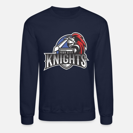 St Hoodies & Sweatshirts - Knights Your City - Unisex Crewneck Sweatshirt navy