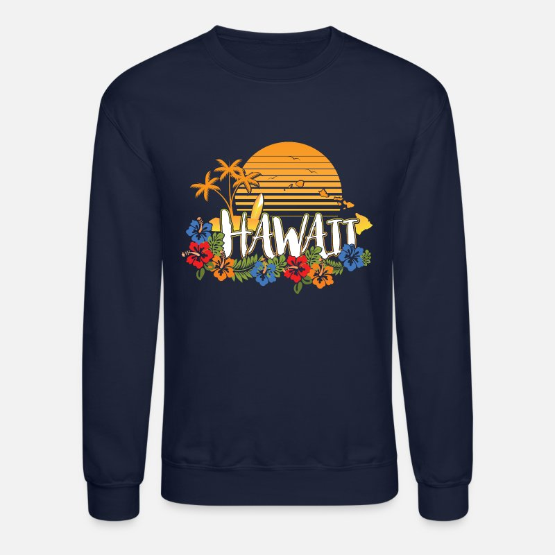 fd0b03a9bf0d Shop Hawaii Hoodies & Sweatshirts online | Spreadshirt