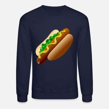 Hot Dog Just a Hot Dog Shirt - Crewneck Sweatshirt
