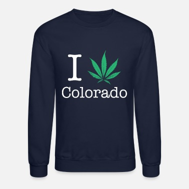 Symbol I Love Colorado - Unisex Crewneck Sweatshirt