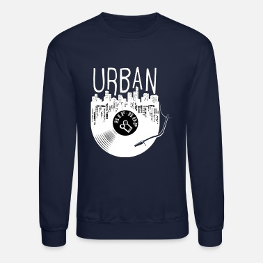Old School Rap Urban Hip Hop Old School Rap - Crewneck Sweatshirt