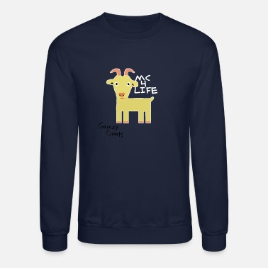 Mc Limited Edition Galaxy Goats Merch - Crewneck Sweatshirt