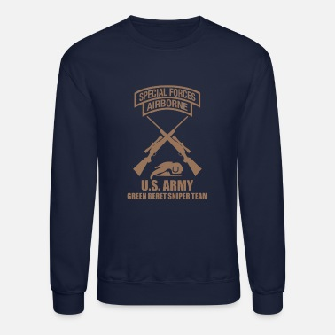 Special Forces US Army Special Force Sniper - Crewneck Sweatshirt