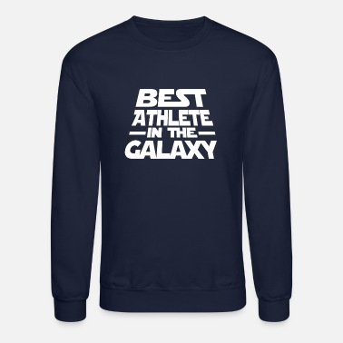 Aesthetic Best Athlete In The Galaxy T Shirt - Crewneck Sweatshirt