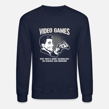 Video Game VIDEO GAMES - Crewneck Sweatshirt