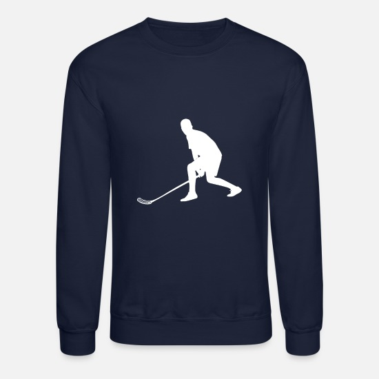 Floor Hockey Hoodies & Sweatshirts - Floor Ball - Unisex Crewneck Sweatshirt navy