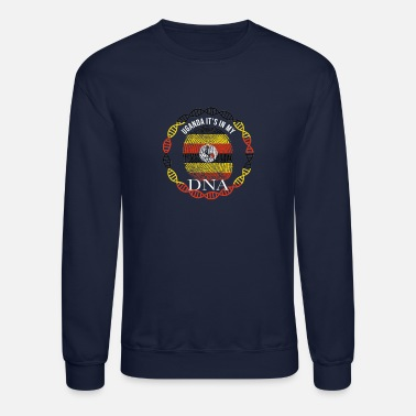 Uganda Uganda Its In My DNA - Unisex Crewneck Sweatshirt