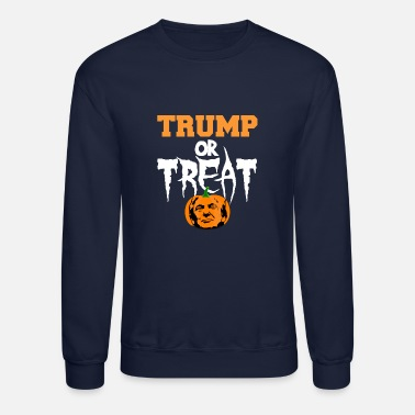 Trump or Treat - Unisex Crewneck Sweatshirt