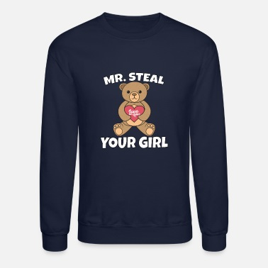 d41a50fda Mr. Steal Your Girl Valentines Day Gift Unisex Baseball T-Shirt ...