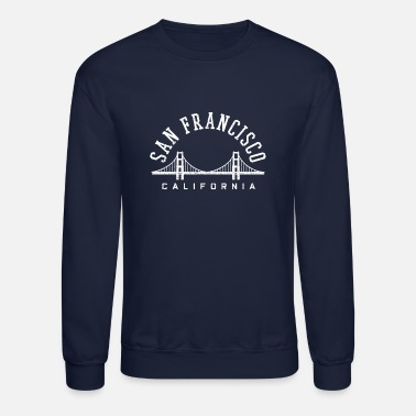San San Francisco California Golden Gate Bridge - Unisex Crewneck Sweatshirt