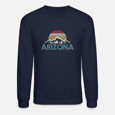 Arizona Arizona Vintage Mountains - Unisex Crewneck Sweatshirt