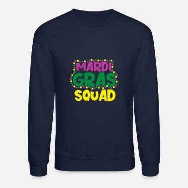 Celebrate Mardi Gras NOLA Fat Tuesday Parade - Unisex Crewneck Sweatshirt