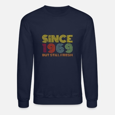 Old School 1969 Birthday Vintage - Unisex Crewneck Sweatshirt
