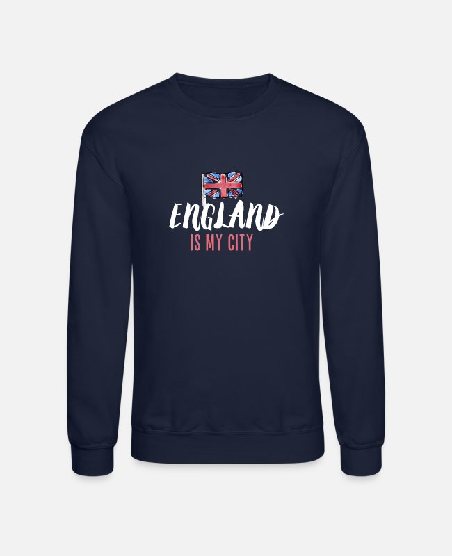 Big Hoodies & Sweatshirts - England is my City Big Ben Grenadier Guards - Unisex Crewneck Sweatshirt navy