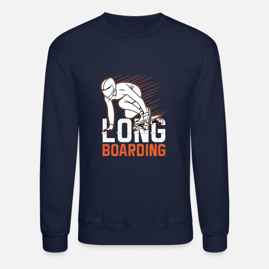 Sports Hoodies & Sweatshirts - Sports longboarding - Unisex Crewneck Sweatshirt navy