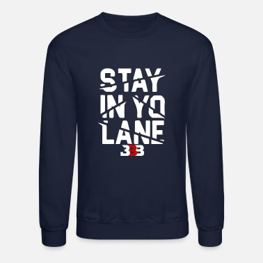 Baller BBB Big Baller Brand Stay In Yo Lane - Crewneck Sweatshirt