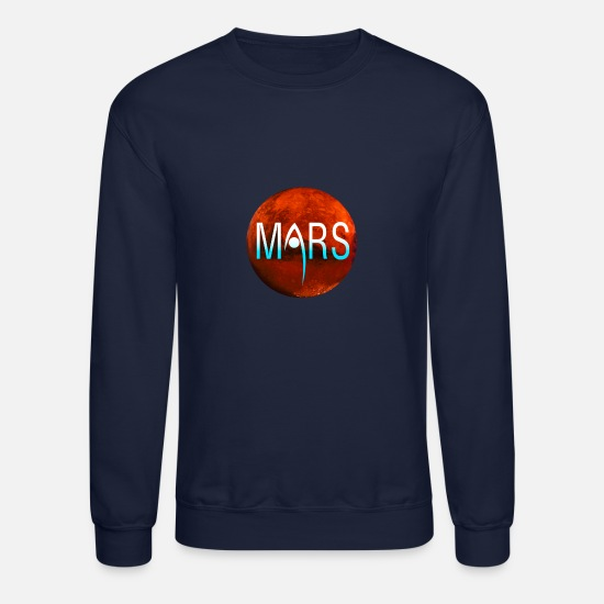 Nasa Hoodies & Sweatshirts - NASA Mars mission - Unisex Crewneck Sweatshirt navy