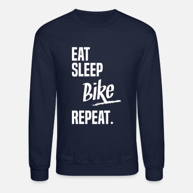 Bicycle EAT SLEEP BIKE - Crewneck Sweatshirt
