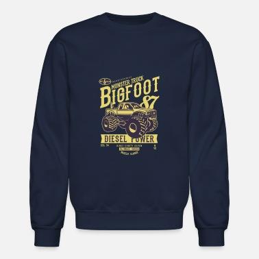 ada08dd38 Shop Monster Truck Hoodies & Sweatshirts online | Spreadshirt