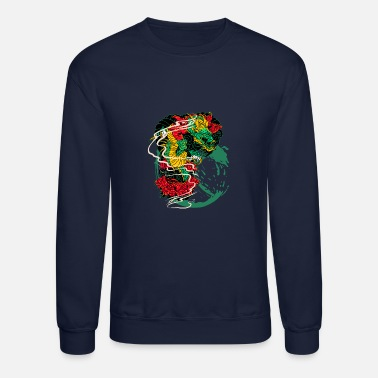 Comic Comic Dragon - Unisex Crewneck Sweatshirt