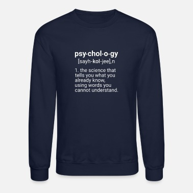 Psychology Psychology - Crewneck Sweatshirt