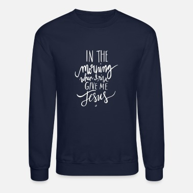 Morning In The Morning - Unisex Crewneck Sweatshirt