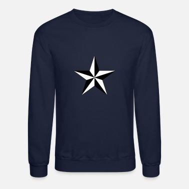Nautical Star nautical star - Unisex Crewneck Sweatshirt
