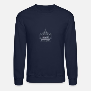 Basilica st peters cathedral F - Unisex Crewneck Sweatshirt