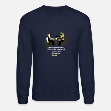 Han Solo Han and Greedo 8-Bit - Unisex Crewneck Sweatshirt