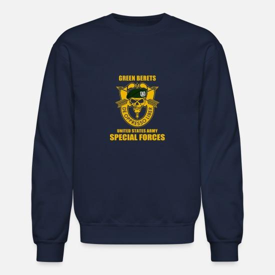 05b7d113f Special Hoodies & Sweatshirts - SPECIAL FORCES GROUP AIRBORNE MILITARY - Unisex  Crewneck Sweatshirt navy