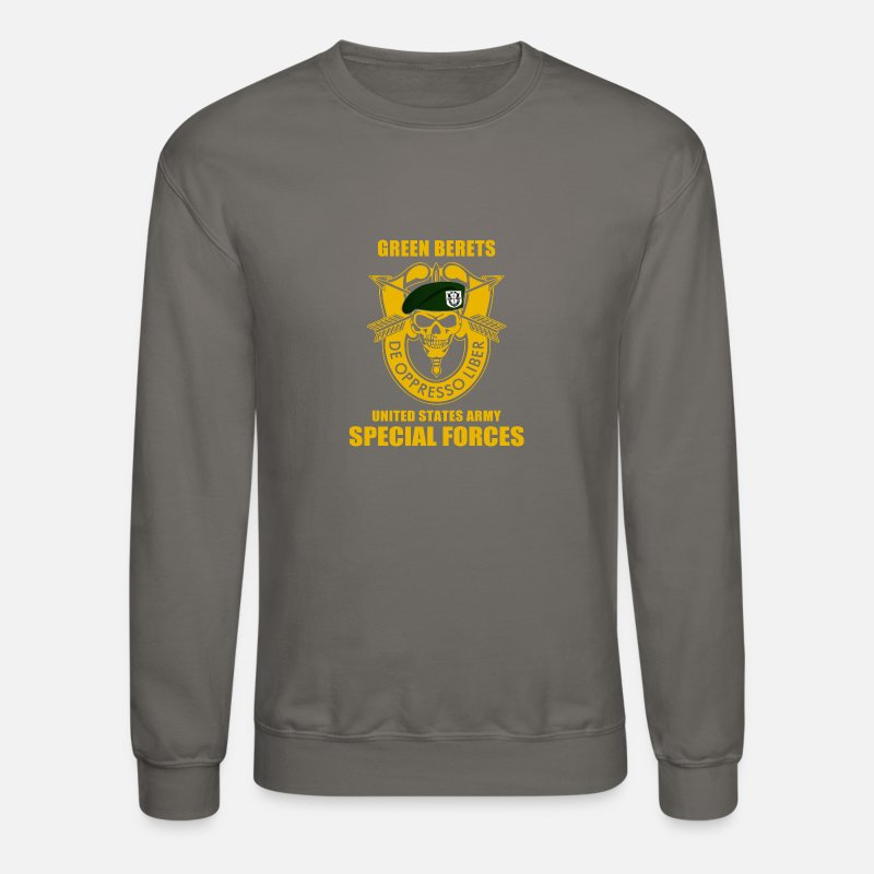 e7d8c6982 SPECIAL FORCES GROUP AIRBORNE MILITARY Unisex Crewneck Sweatshirt    Spreadshirt