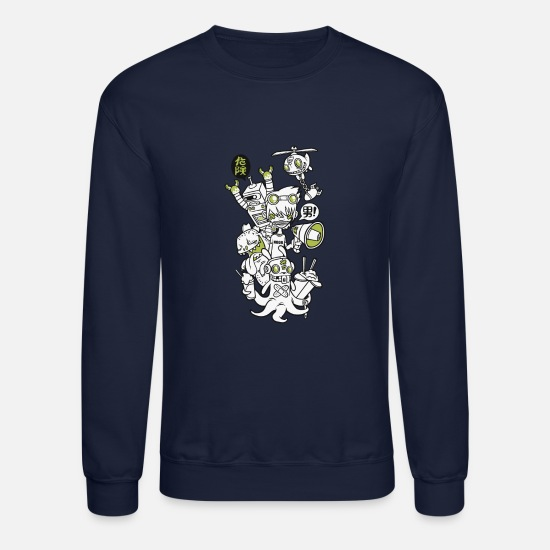 Dangerous Hoodies & Sweatshirts - Danger - Unisex Crewneck Sweatshirt navy