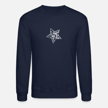 Rubber Rope A Star Made of Ropes - Unisex Crewneck Sweatshirt