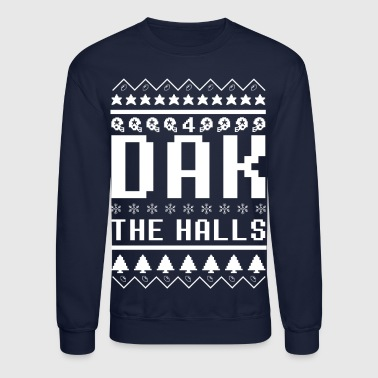 Dak The Halls Ugly Christmas Sweater - Crewneck Sweatshirt