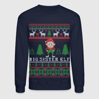 Big Sister Elf - Crewneck Sweatshirt