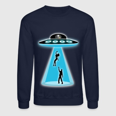 Funny Alien UFO Abduction - Crewneck Sweatshirt