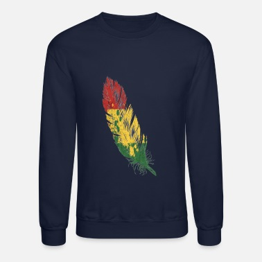 Rasta feather rasta - Unisex Crewneck Sweatshirt