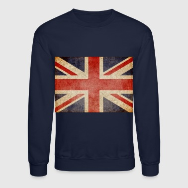 British Faded UK Flag - Crewneck Sweatshirt