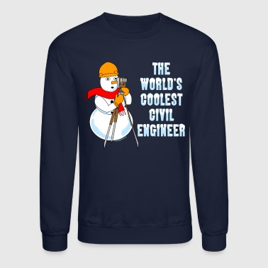 Engineer Coolest Civil Engineer - Crewneck Sweatshirt