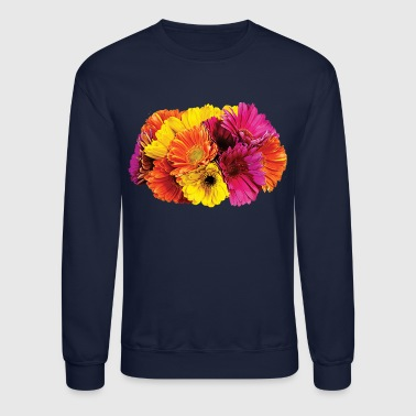 Gerbera Daisies Mixed Colors - Crewneck Sweatshirt