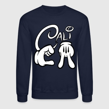 CALIFORNIA Mickey Hands - Crewneck Sweatshirt