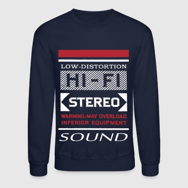 Old School Hip Hop low distorsion shirt - Crewneck Sweatshirt