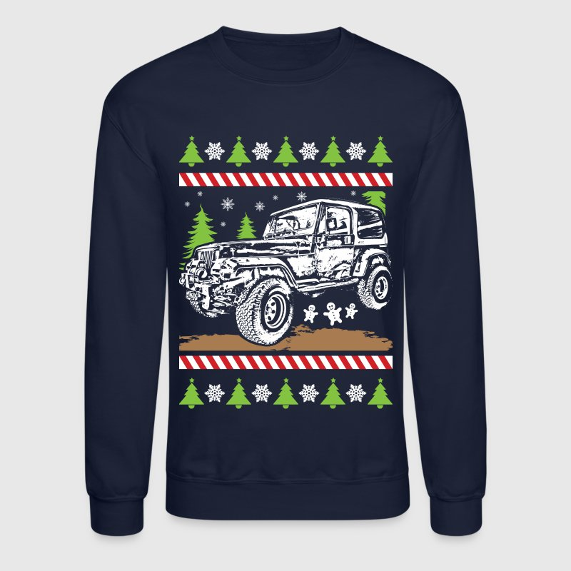 Ugly Christmas Jeeper - Crewneck Sweatshirt