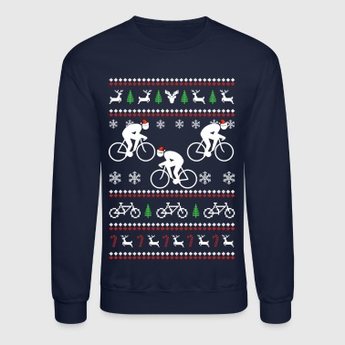 Cycling Christmas - Crewneck Sweatshirt